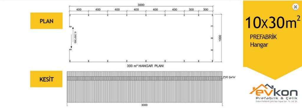 edirne-prefabrik-depo-hangar-10x30-m2