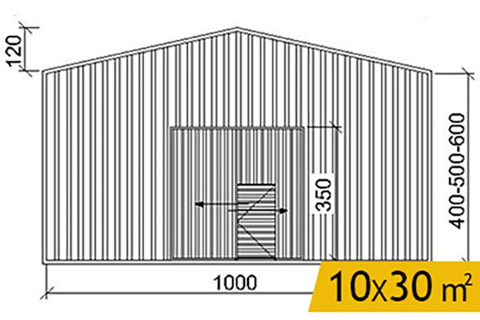 hangar-prefabrik-yapi-10X30