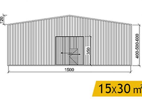 hangar-prefabrik-yapi-15X30