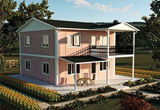 Prefabrik Ev Çift Katlı 149 m²