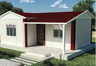 Prefabrik Ev Tek Katlı 40 m²