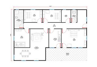 Prefabrik Ev Tek Katlı Lüks 150 m²