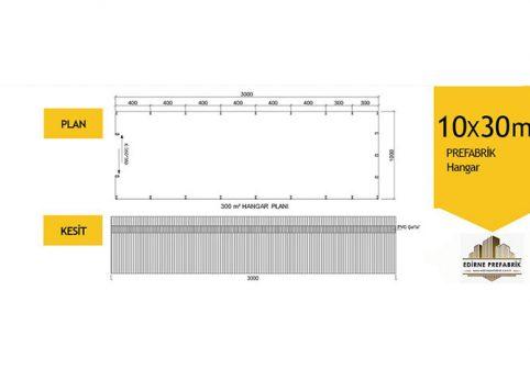 prefabrik-hangar-depo-edirne-10x30